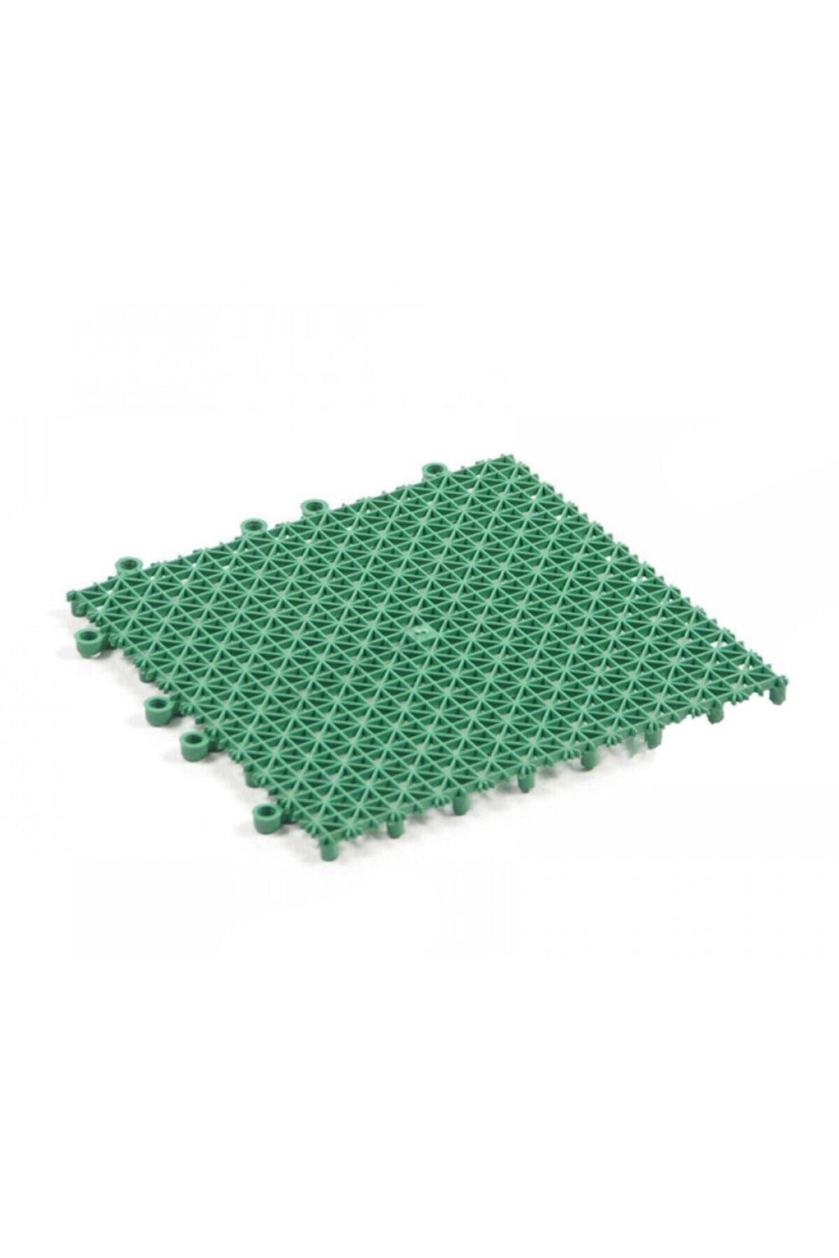 Plastik Kırılmaz Yer Karosu Zemin Kaplaması 1 M2 ( 16 Adet ) 25 X 25 Cm