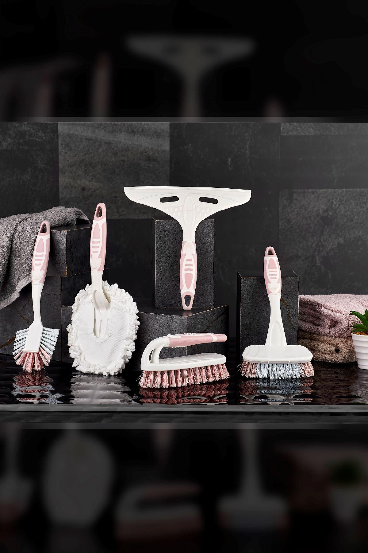 Vip Ahmet 5 Li Vip Temizlik Fırça Seti