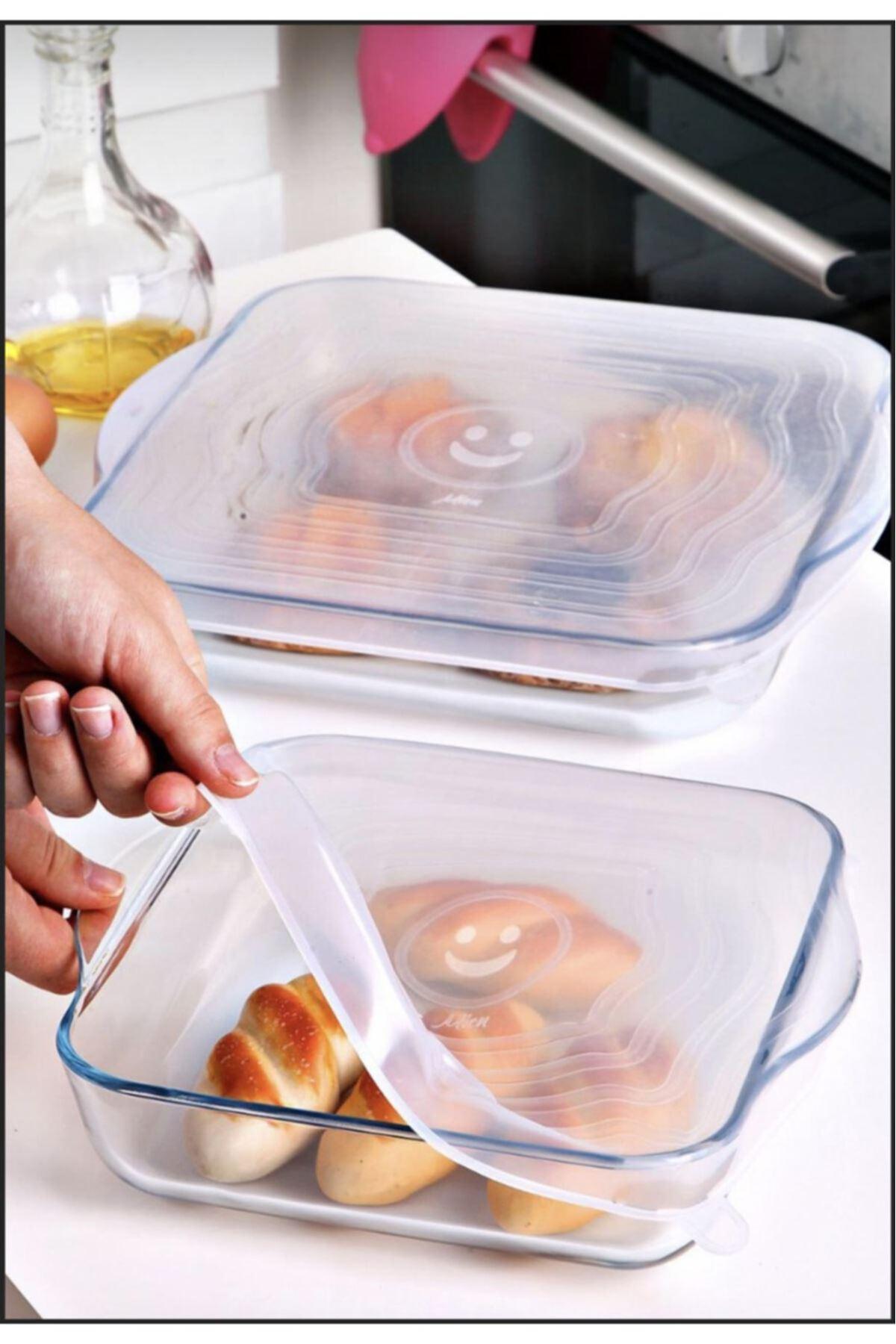 Kitchen Trend 2 Li Kare Silikon Borcam Kapağı