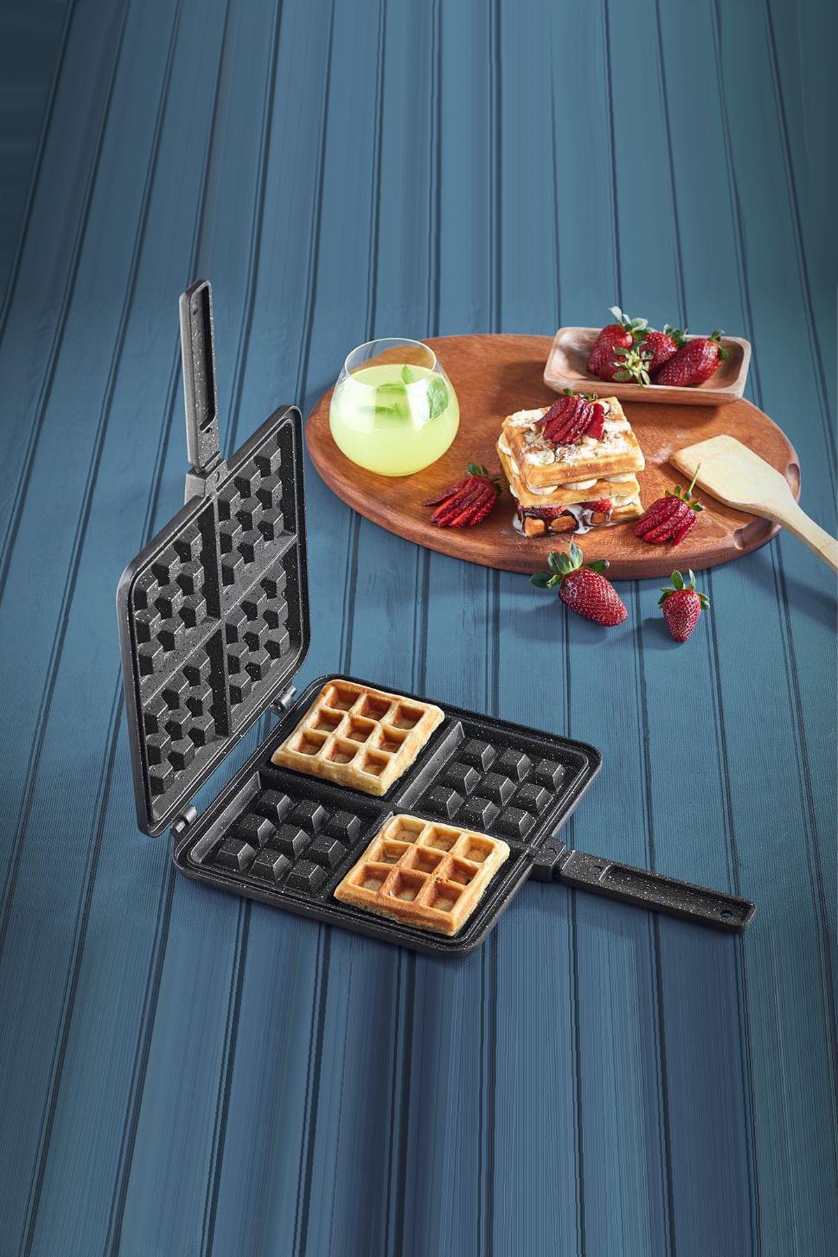 Vip Ahmet Döküm Waffle Tava
