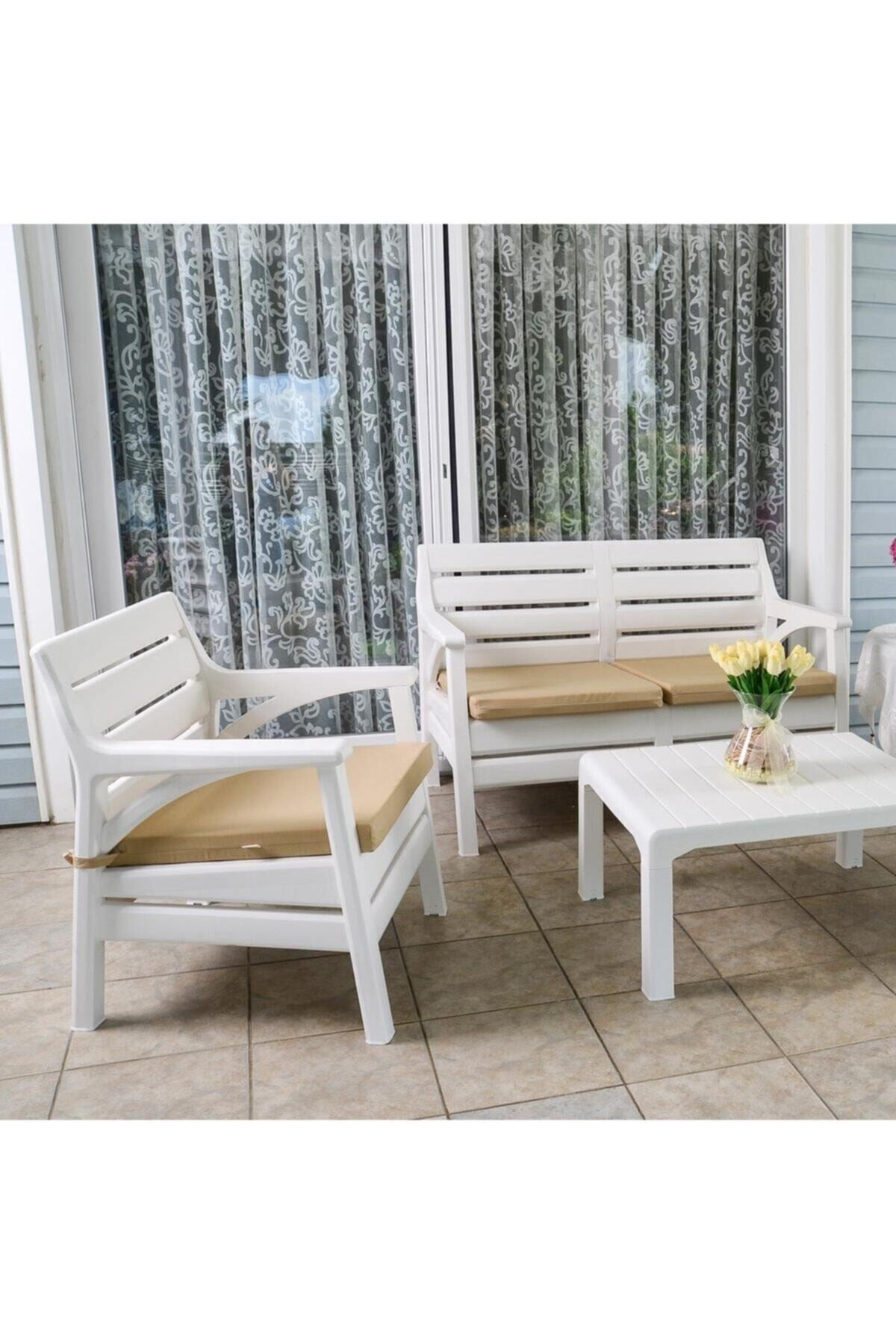 Miami Set Masa Takımı | Bahçe & Balkon Seti
