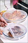 Kitchen Trend 2 Li Yuvarlak Silikon Borcam Kapağı